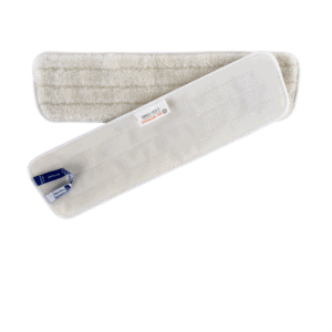 OEKO-TEX miljømærket tørmoppe med velcro 40 cm