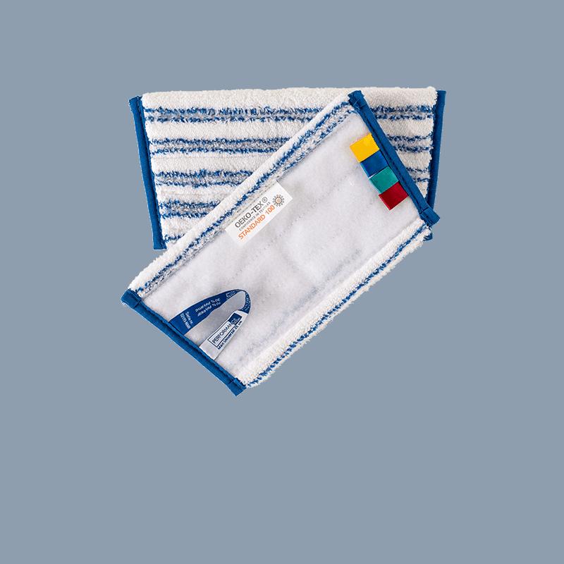 OEKO-TEX miljømærket universal microfibermoppe 25 cm