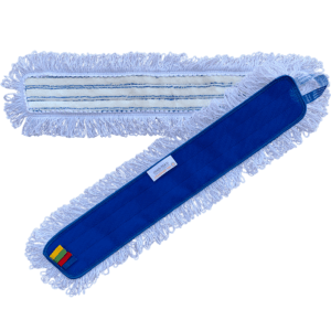 OEKO-TEX miljømærket universal microfibermoppe med løkker, 60 cm