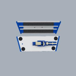Velcrofremfører 25 cm