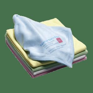 Antibakteriel microfiberklud til hospitalsrengøring