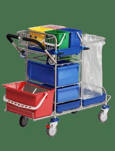 Kompakt rengøringsvogn til lommemopper