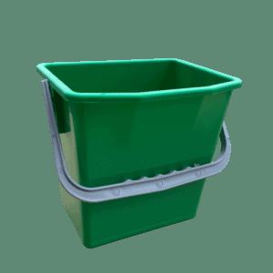 Grøn rengøringsspand 6 liter