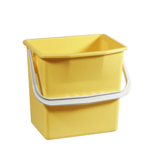 Gul rengøringsspand 6 liter