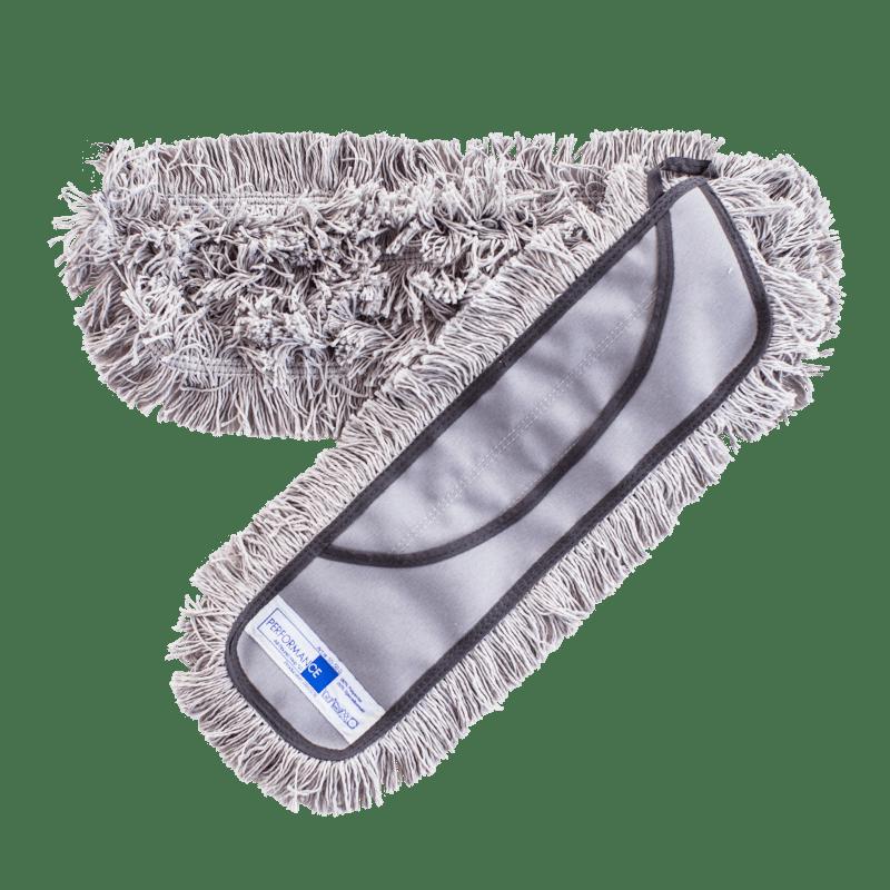 50 cm lommemoppe med kantfrynser til single-system