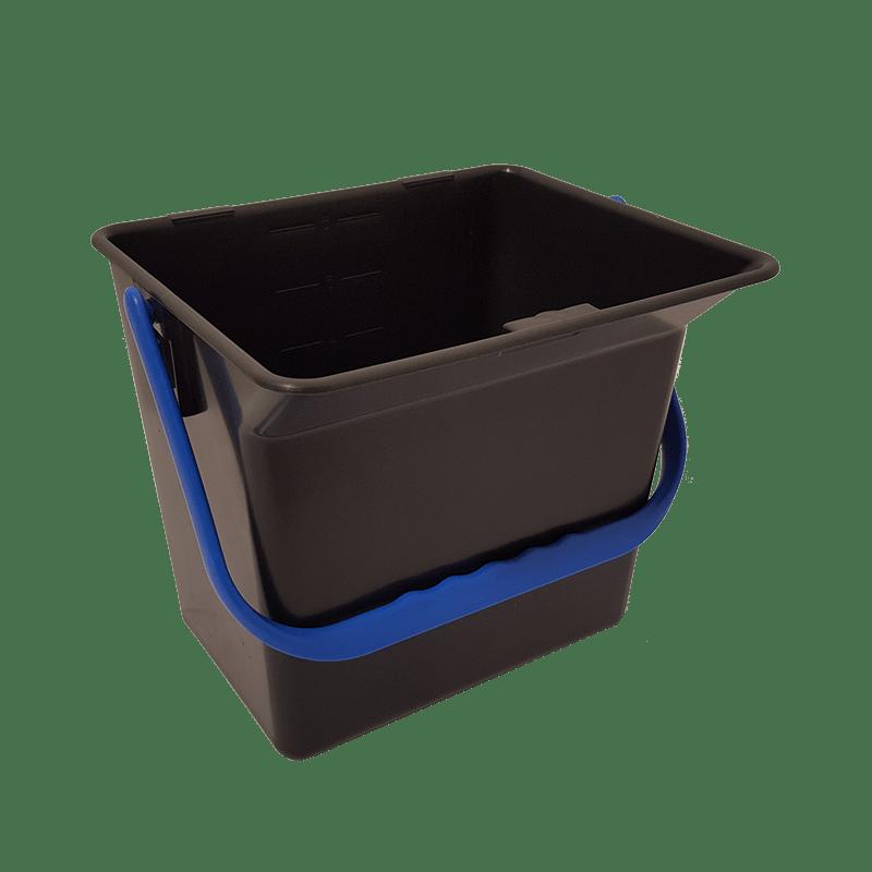 Bæredygtig rengøringsspand med blå hank