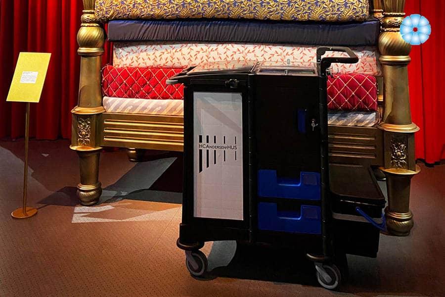 Nordic Recycle Trolley er flyttet ind i H.C. Andersens Hus